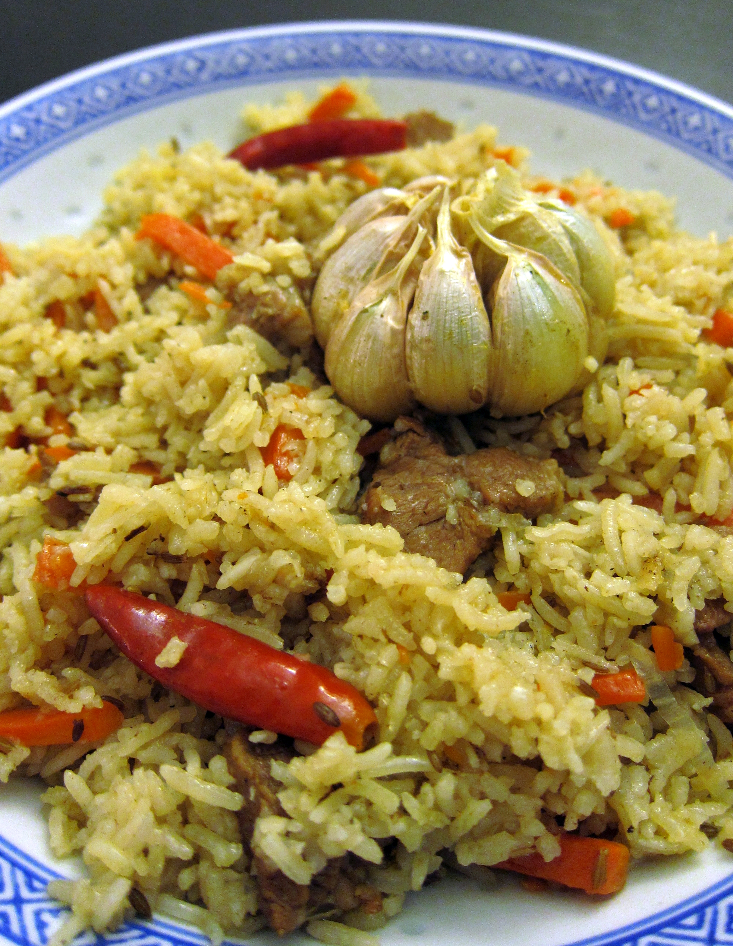 ... rice pilaf with orzo and pine nuts plov uzbek rice pilaf recipes