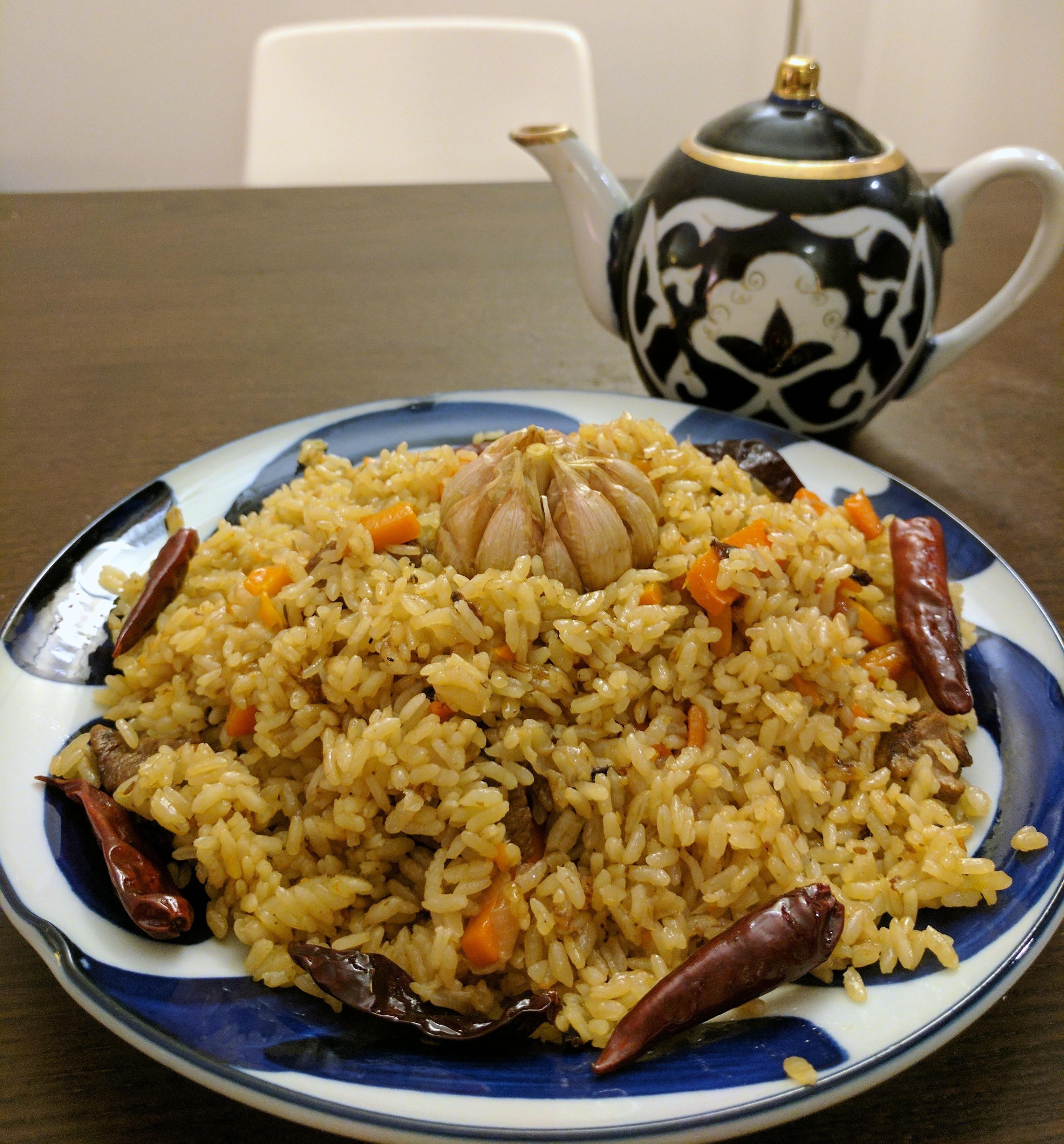 Mushroom Rice Pilaf pics