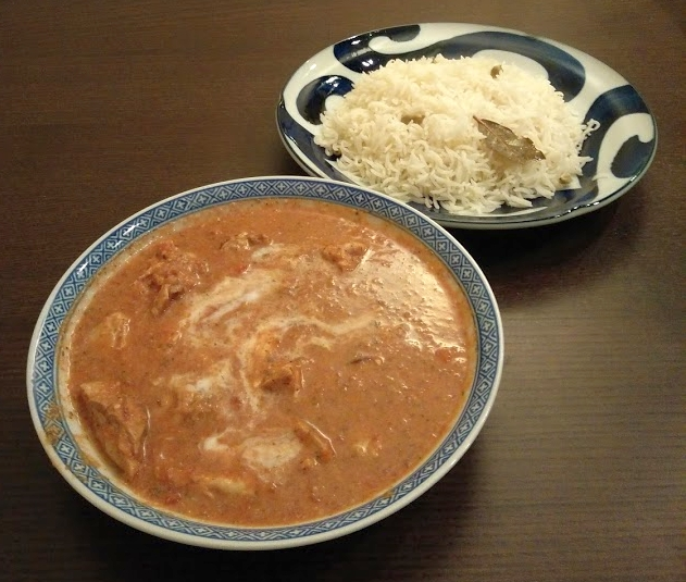 basmati_with_butterchicken